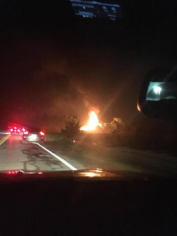 Photo gallery: Massive fire at Lyon Township motorcycle club