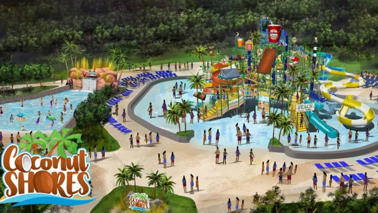 Kings Dominion unveils water park updates for 2020
