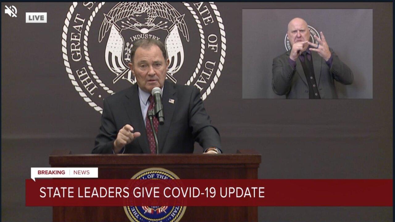 Governor COVID briefing