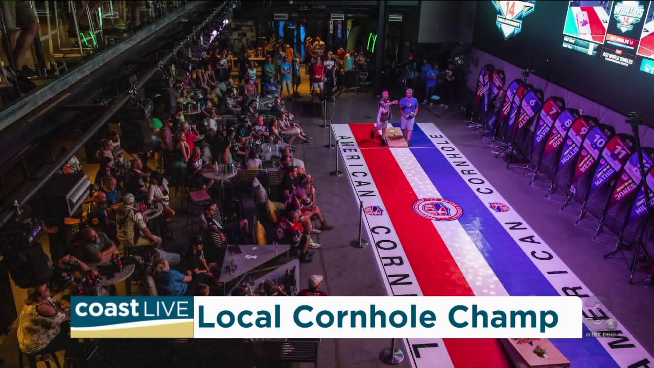 Tips from local cornhole champ Matt Stout, now #2 in the world on CoastLive