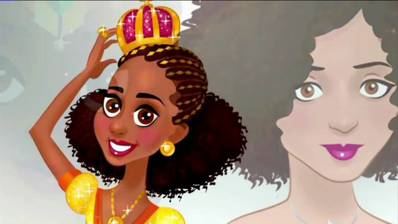 """Israel Cook Creates """"The Princess Planet"""" BookSeries"""