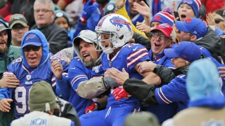 It's too early to know whether or not fans will be at NFL games