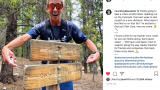 Courtney Dauwalter starting Colorado Trail FTK