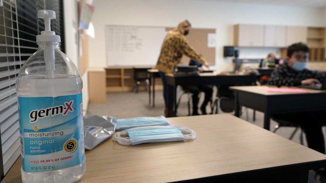 Virus Outbreak Washington Schools