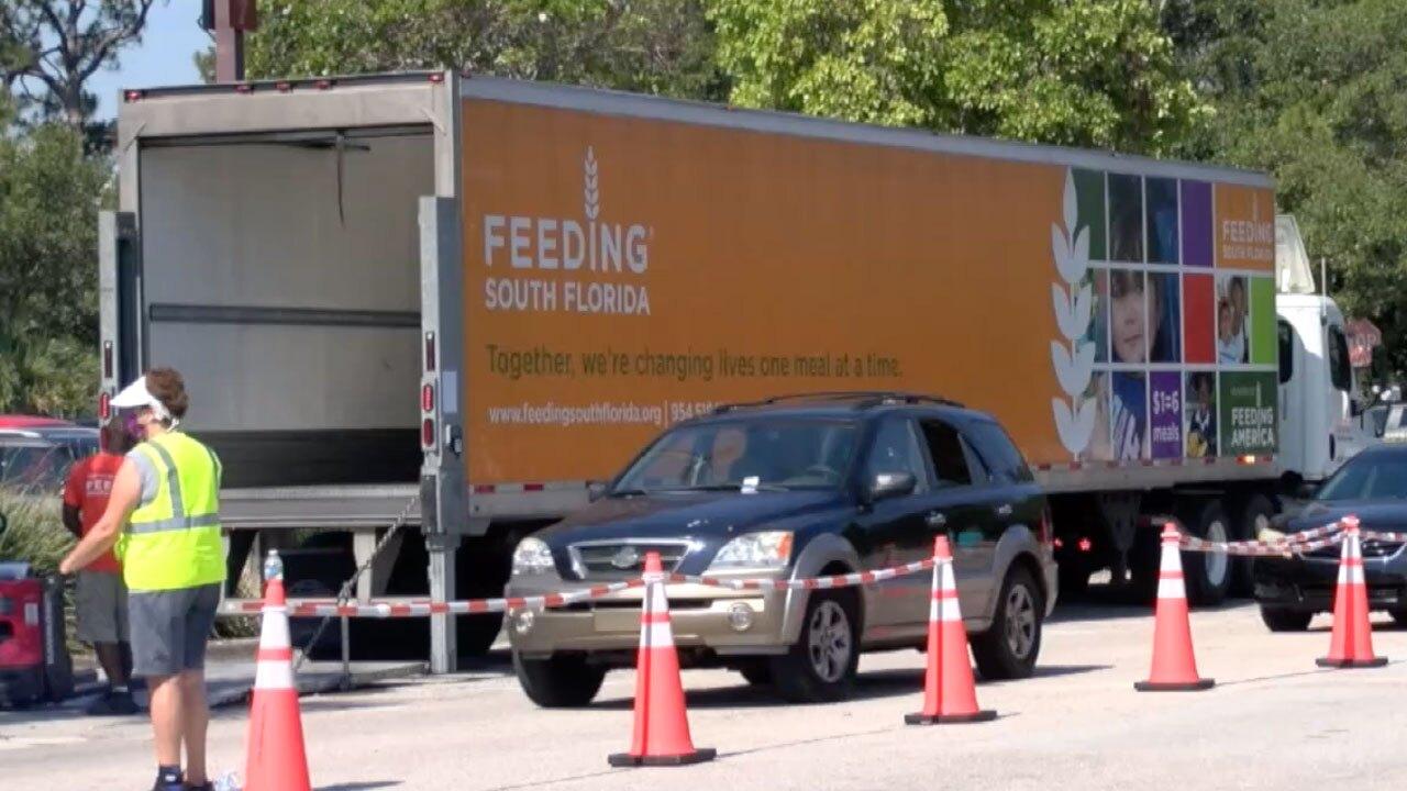 Feeding South Florida food distribution