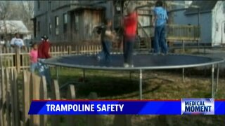 Medical Moment: TrampolineSafety