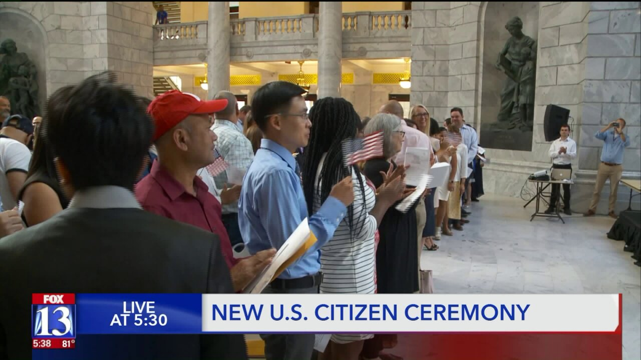 New citizens sworn in at state Capitol