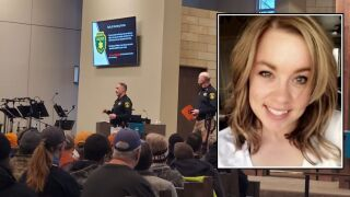 Scores of volunteers turn out to help search for Amy Harding-Permann