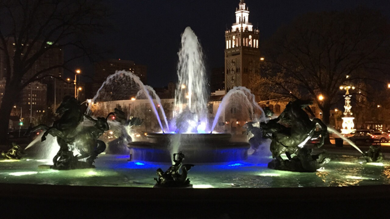 Fountain Day: KC fountains flow for spring!