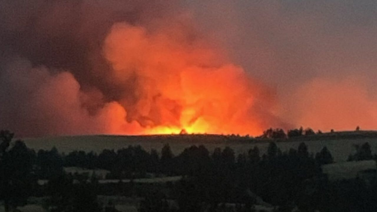 Taylor Fire in Fergus County