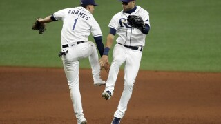 Kevin Kiermaier, Willy Adames Rays