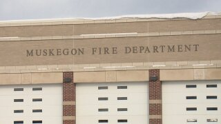 Muskegon school evacuated after toiletfire