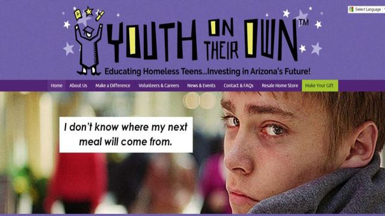Hard-hearted thieves steal homeless teens' food