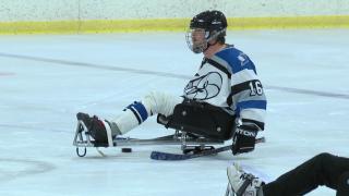 Sledge Hockey takes to the ice in Helena