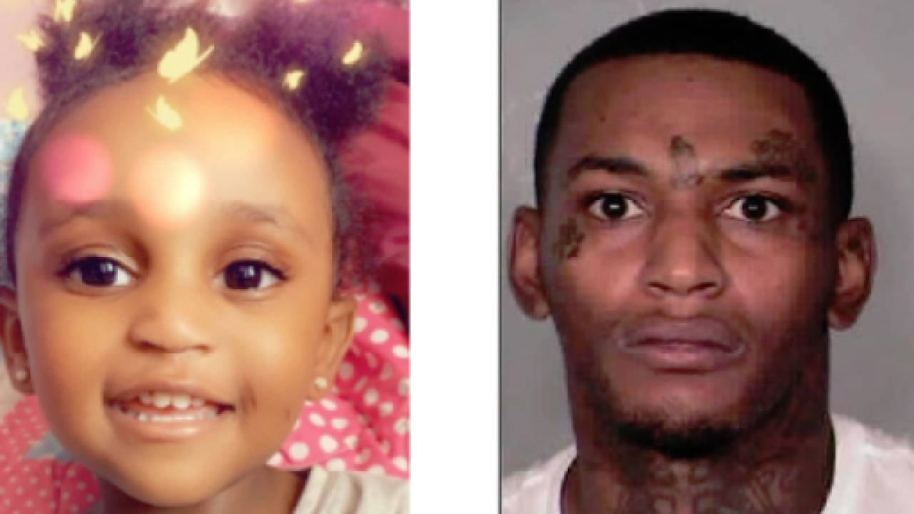 Man wanted in homicide, AMBER Alert arrested; 2-year-old Noelani Robinson still missing
