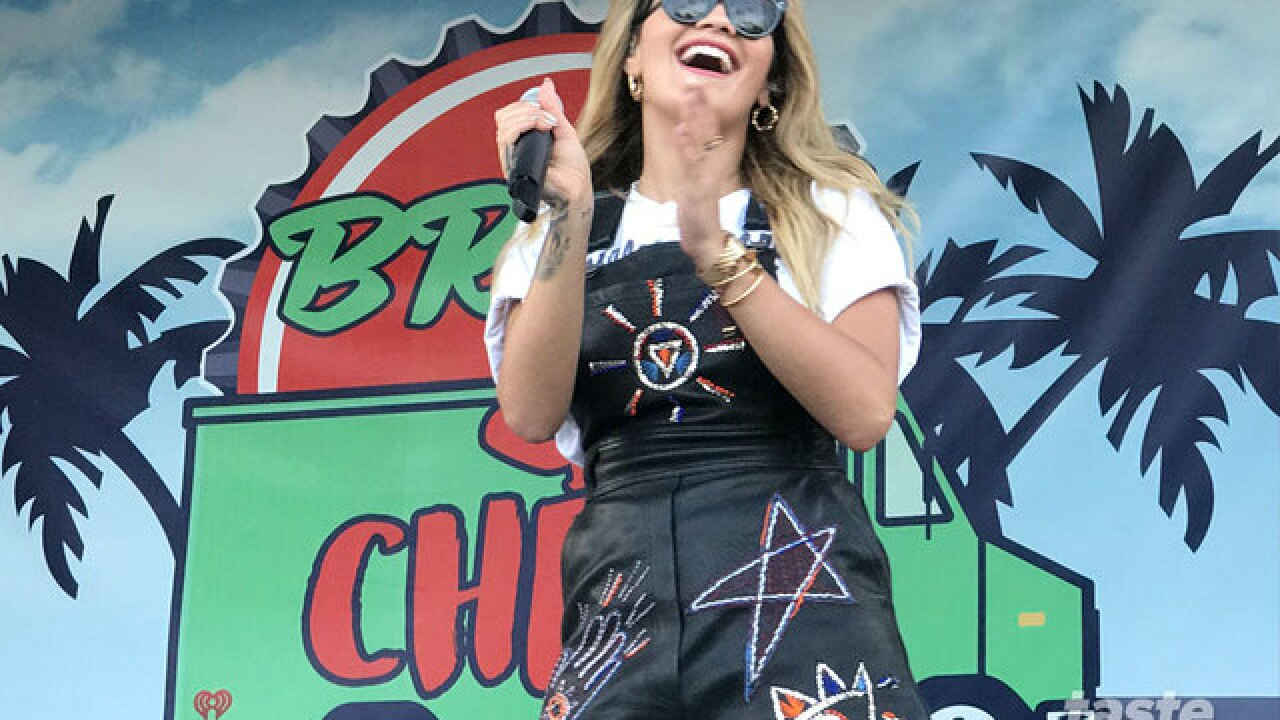 Rita Ora plays Brew and Chew Music Festival in West Palm Beach