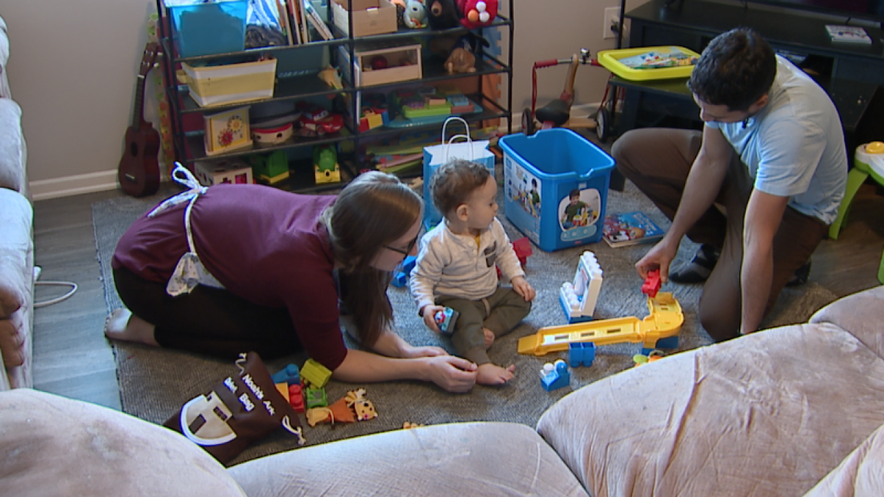 Parker family opens home to those in need on Christmas