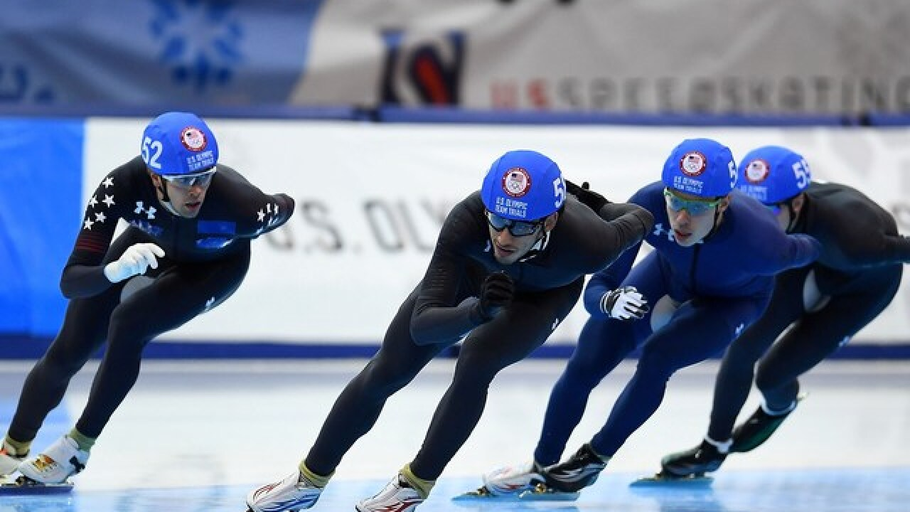 506f6a57a7c U.S. Olympic speed skating team finalized after trials at Milwaukee s  Pettit National Ice Center
