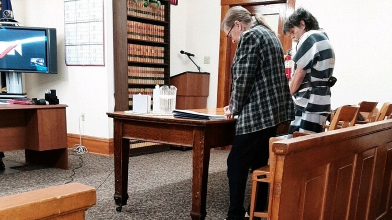 Dennis Jackson in court (May 4, 2021)