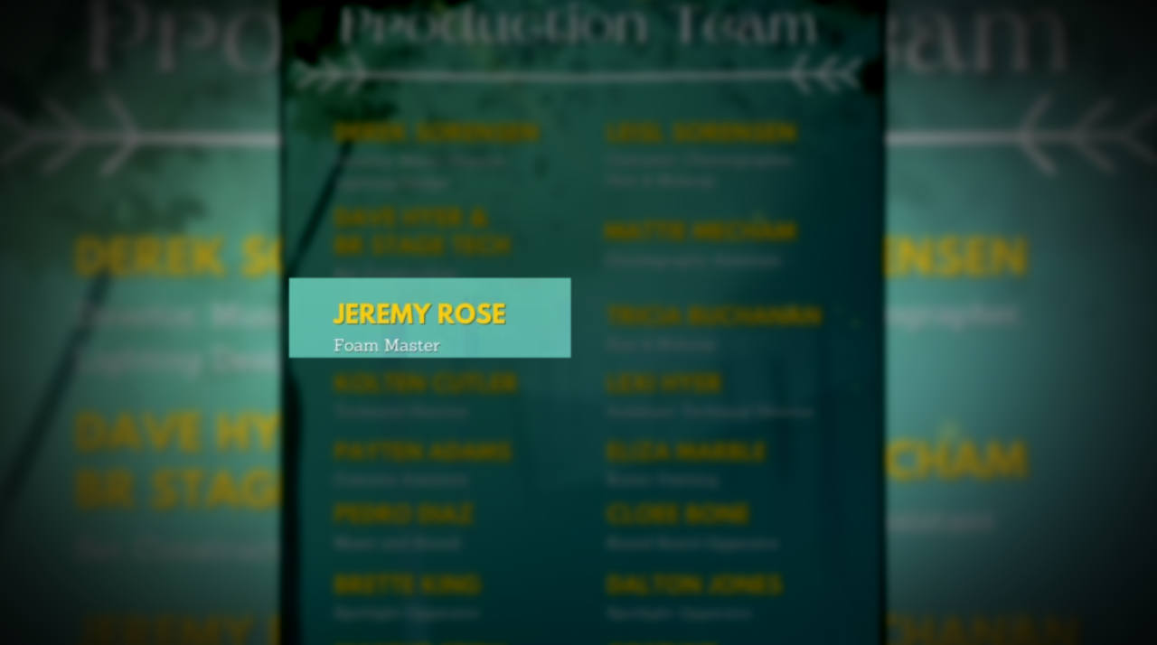 Jeremy Rose, a registered sex offender, is listed as a volunteer on the Bear River High School school play program