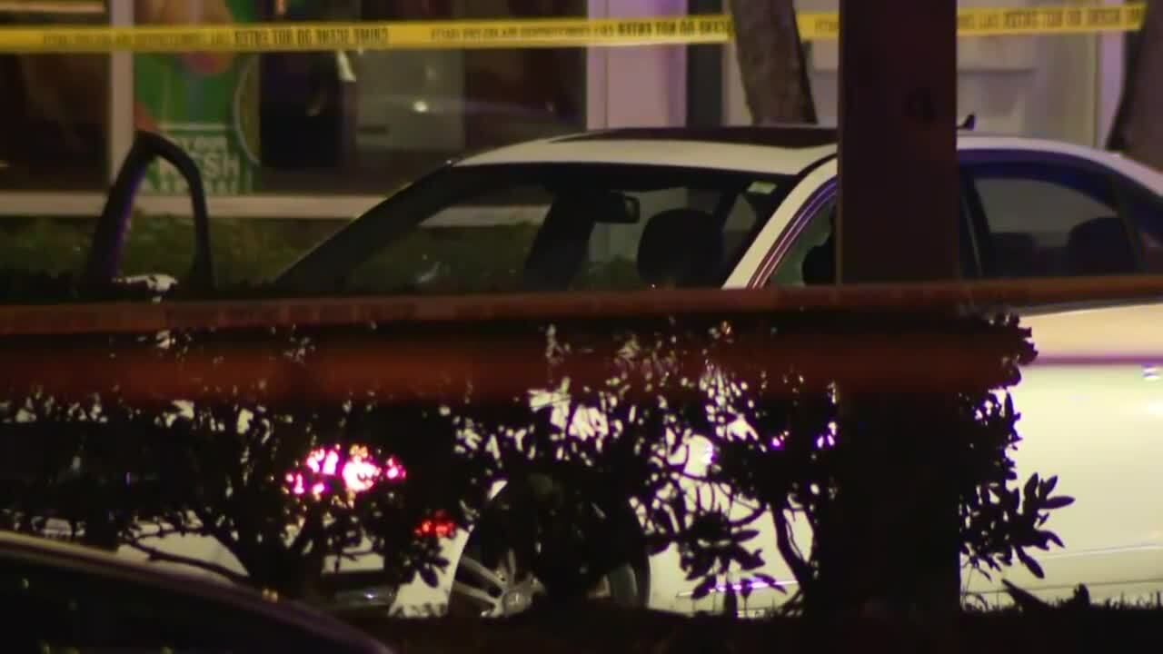 Mercedes-Benz involved in Coconut Creek police-involved shooting