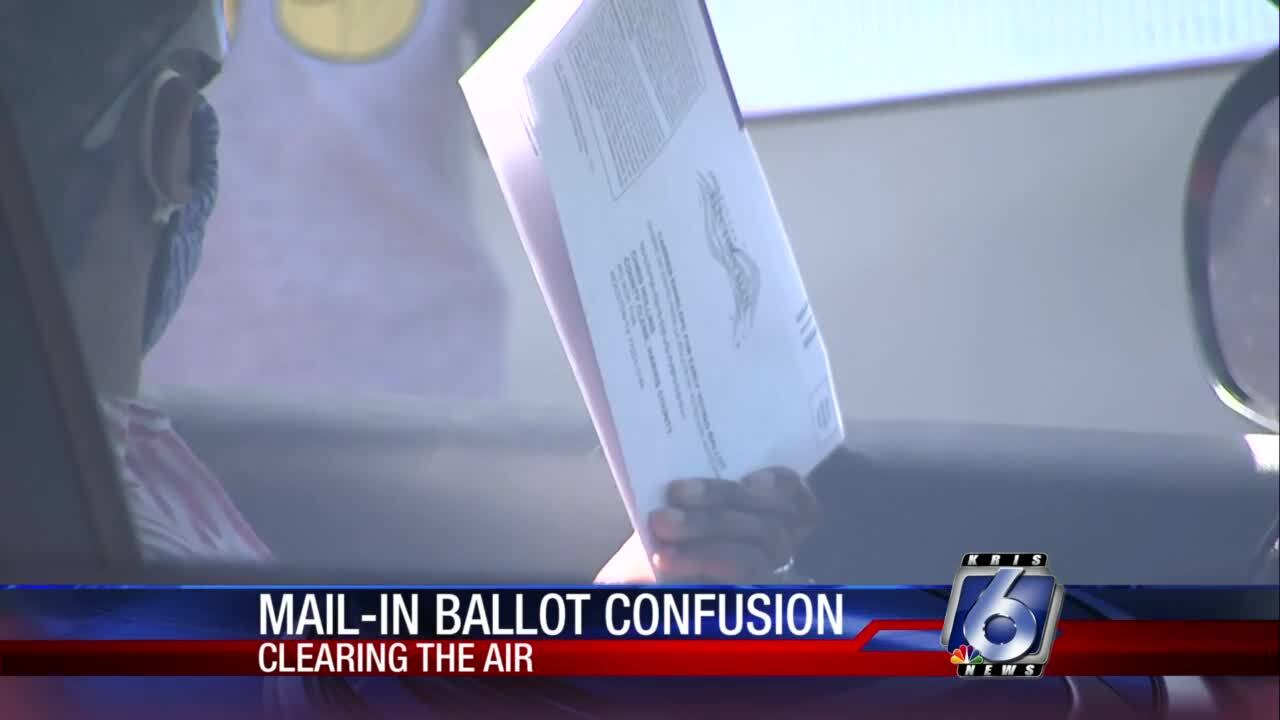 Clearing confusion about mail-in ballots