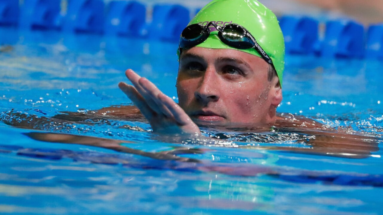 Lochte, other U.S. swimmers ordered to stay in Brazil