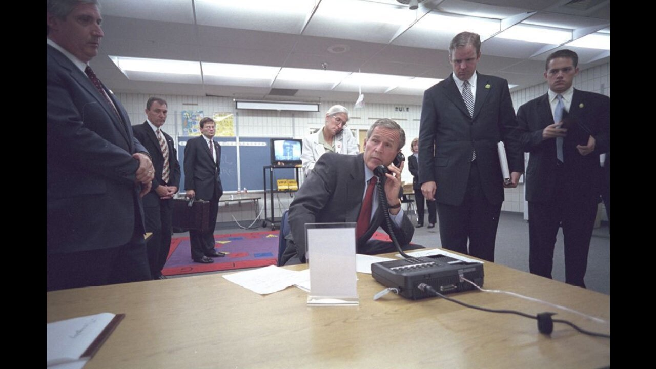 George-W-Bush-on-911- Eric Draper, Courtesy of the George W. Bush Presidential Library and Museum.jpg
