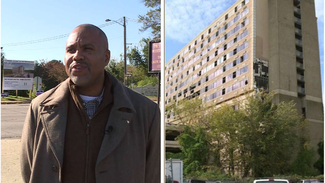 What Petersburg officials plan to do about derelict hotel near I-95: 'We're fed up'