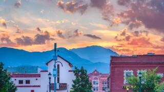 Daniel Forster  Colorado Springs sunset