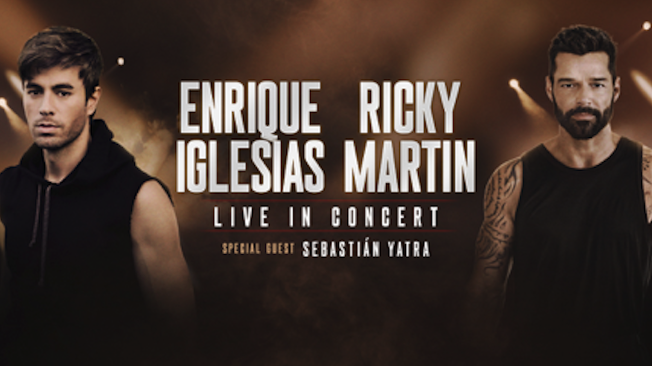 Ricky Martin, Enrique Iglesias announce co-headlining tour