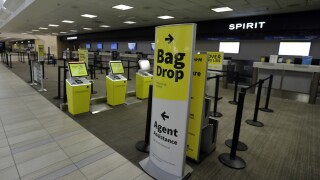 Spirit Airlines first carrier in nation to have automated self-bag drop