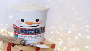 Cinnabon Is Now Selling Its Famous Frosting By The Pint