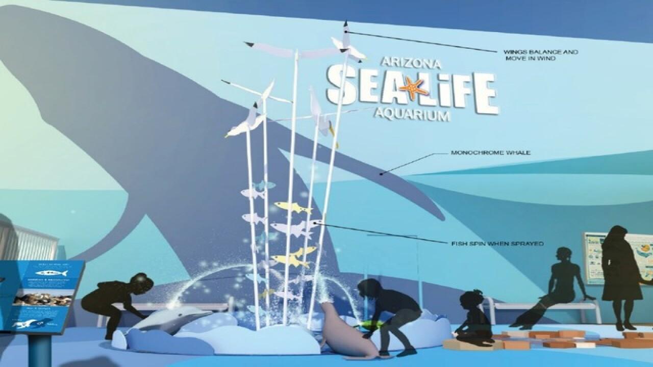 Sea Life Aquarium building nearly $1M exhibit