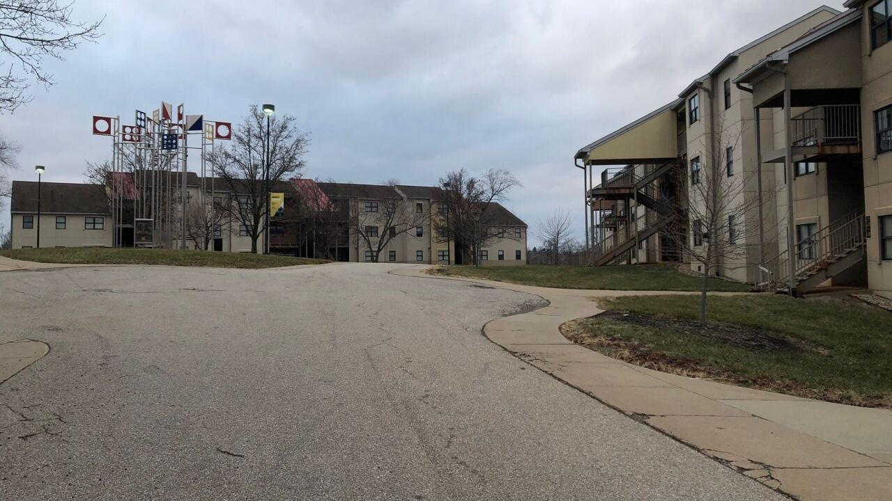 Woodcrest student Apartments on the campus of Northern Kentucky University closed due to structural concerns