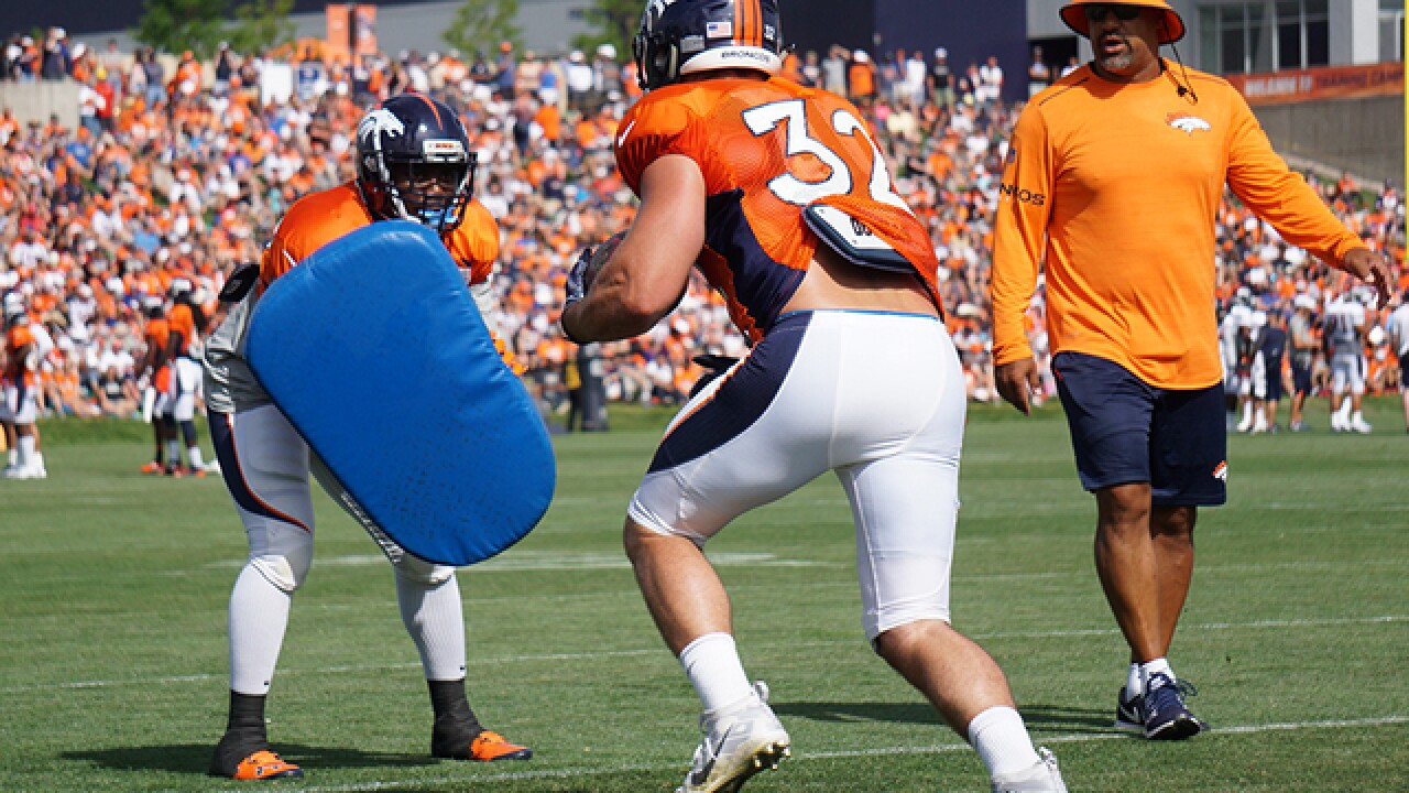 LIVE BLOG: Denver Broncos training camp 2018