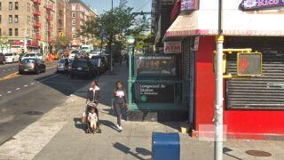Longwood Ave station on No. 6 subway line