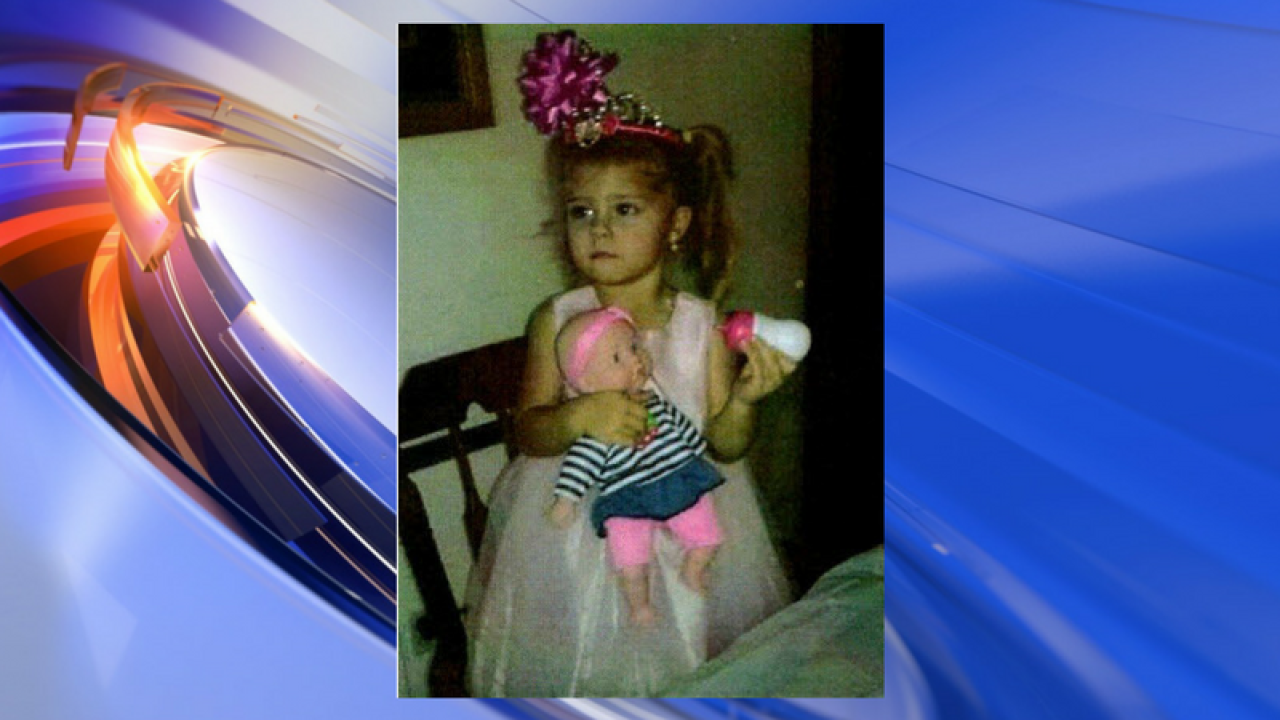 Watch: AMBER alert issued for missing North Carolina 3-year-old girl