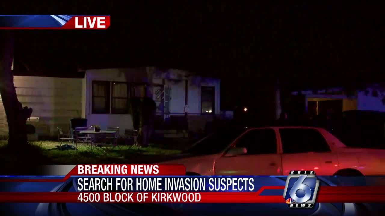 Two arrested for home invasion
