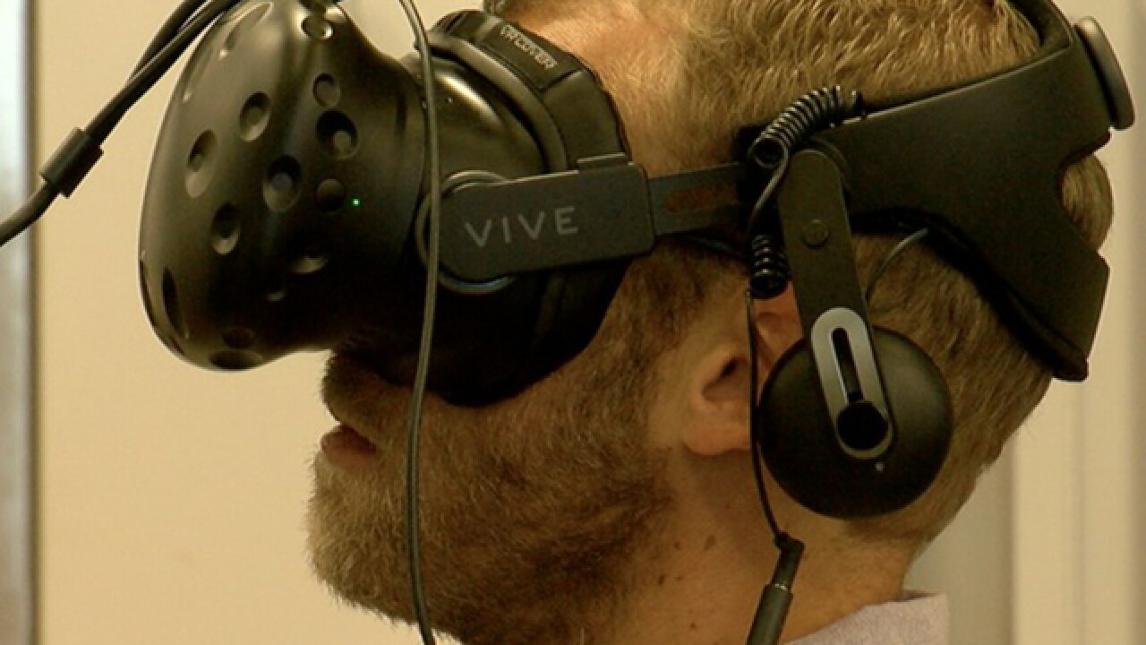 Virtual reality tested to treat mental illness
