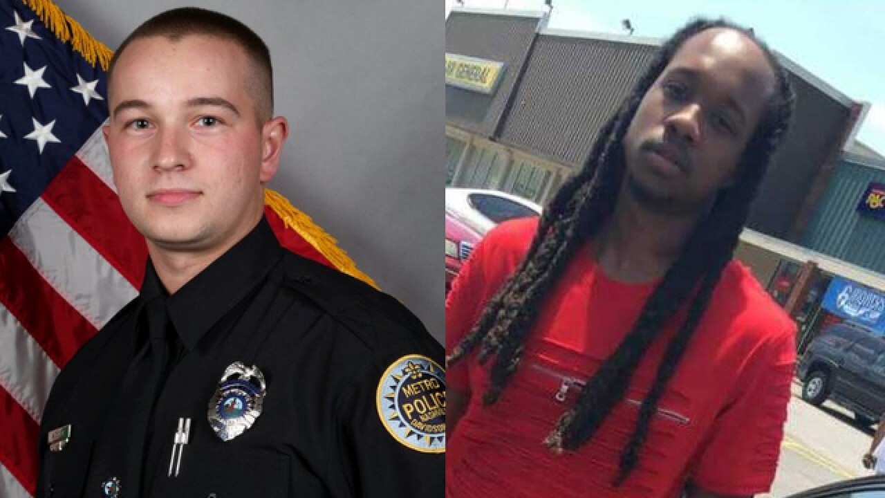 Nashville officer charged in shooting