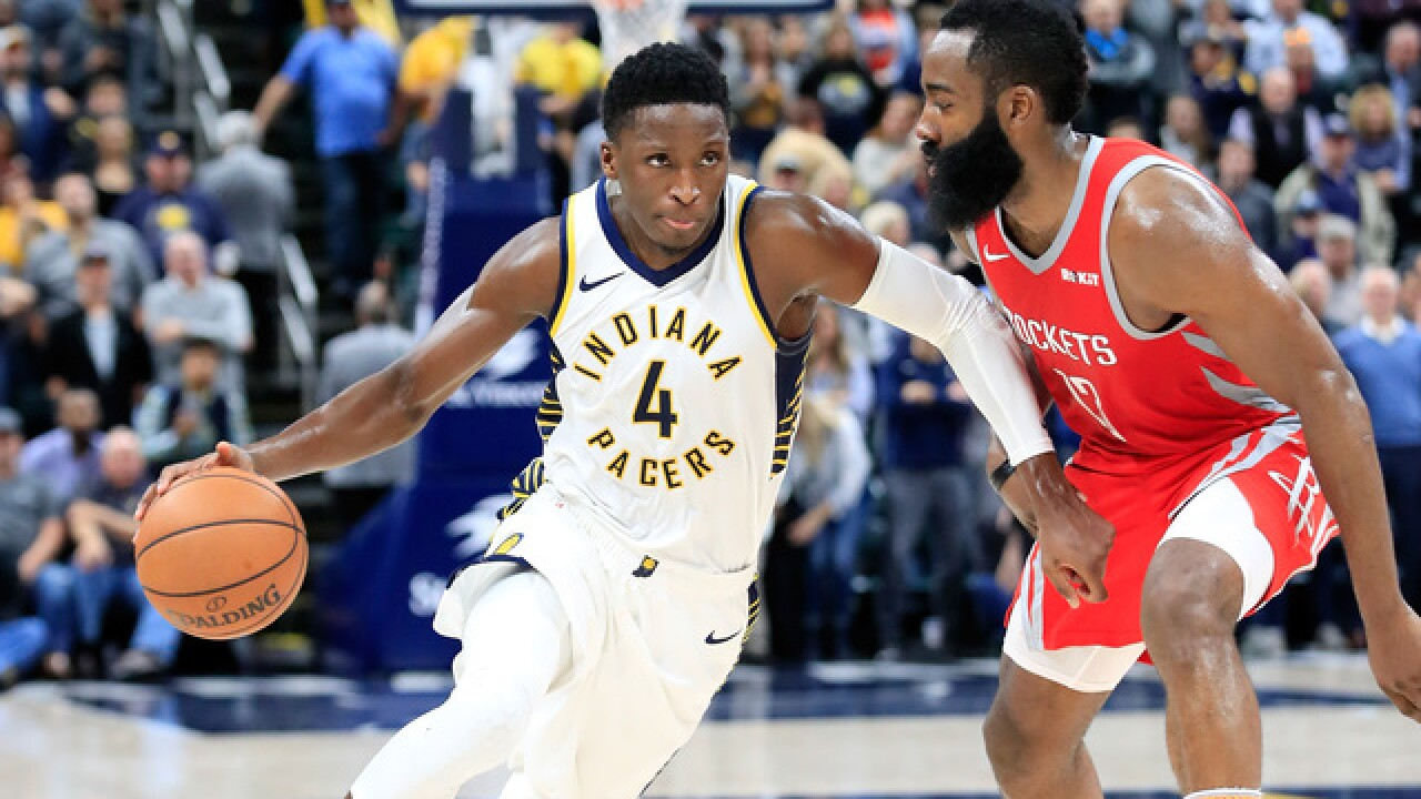 Houston rockets past Pacers 98-94