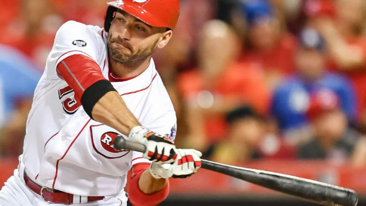 Votto breaks Bruce's home-run record and sparks a new rivalry
