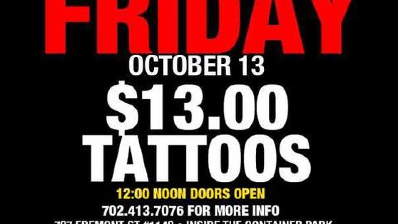 Where to get your Friday the 13th tattoo