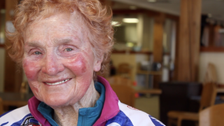 Competition never stops for 86-year-old Molly Hayes