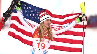 Shiffrin soars, Vonn veers off course in final Olympics race