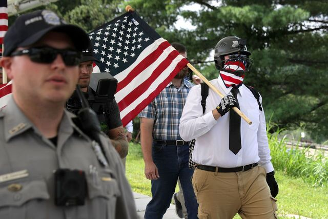 Photos: 'Unite the Right' white supremacist protest and counterprotest in Washington, D.C.