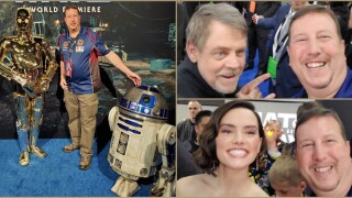 Henrico Star Wars superfan calls 'Rise of Skywalker' Hollywood premiere 'out-of-body experience'