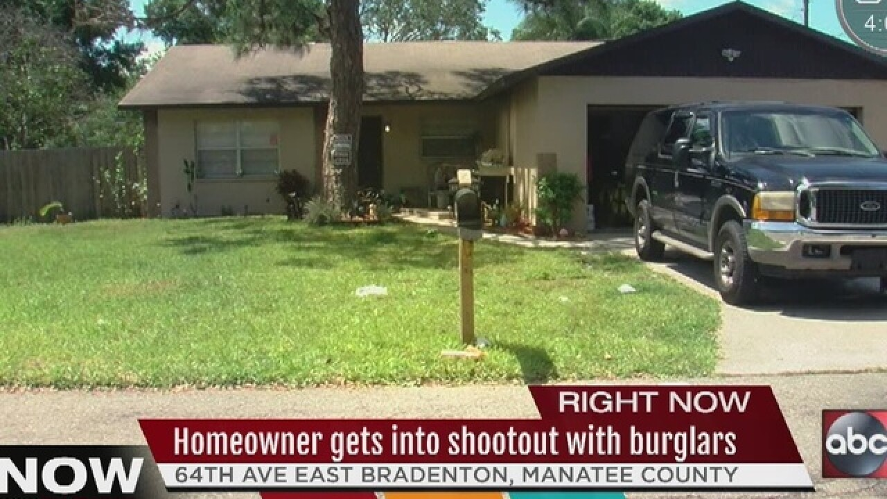 Home invasion shootout leaves 1 dead, 1 injured