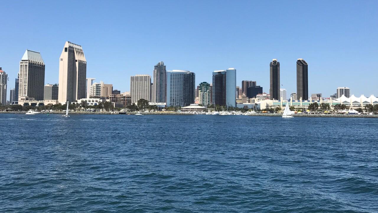 Generic San Diego skyline